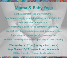 Mama & Baby Yoga 2019